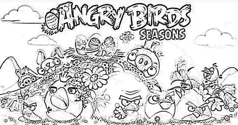 angry birds halloween coloring pages