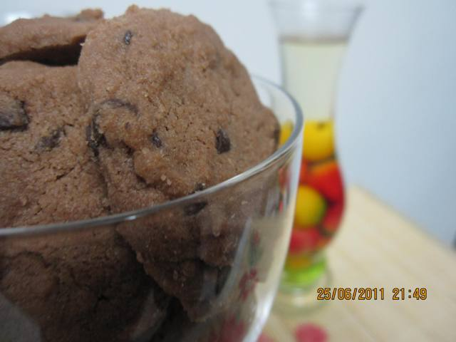 RESEPI BISKUT CHOCOLATE CHIP FAMOUS AMOS (HOME MADE)
