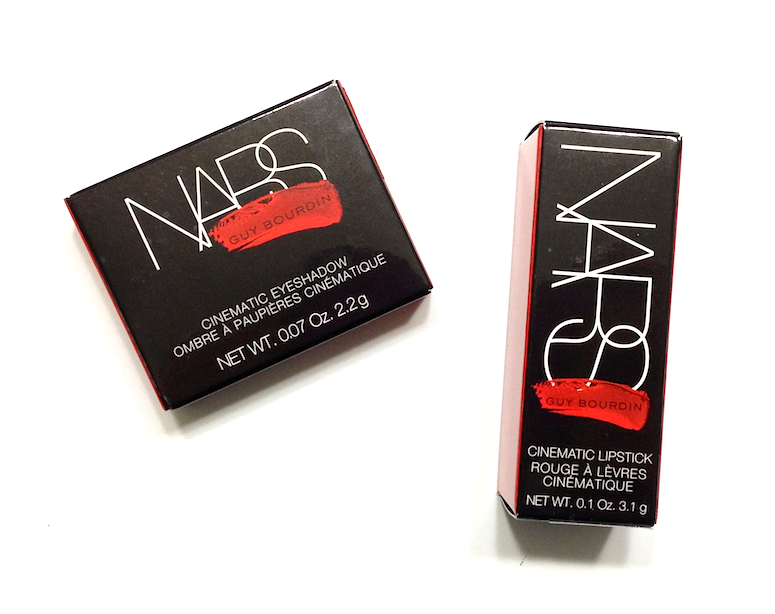 Nars Guy Bourdin Cinematic Eyeshadow in Cambodia and Lipstick in Goodbye Emmanuelle