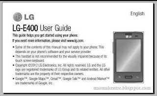 Lg Optimus L3 Manual - Download Optimus L3 User Guide