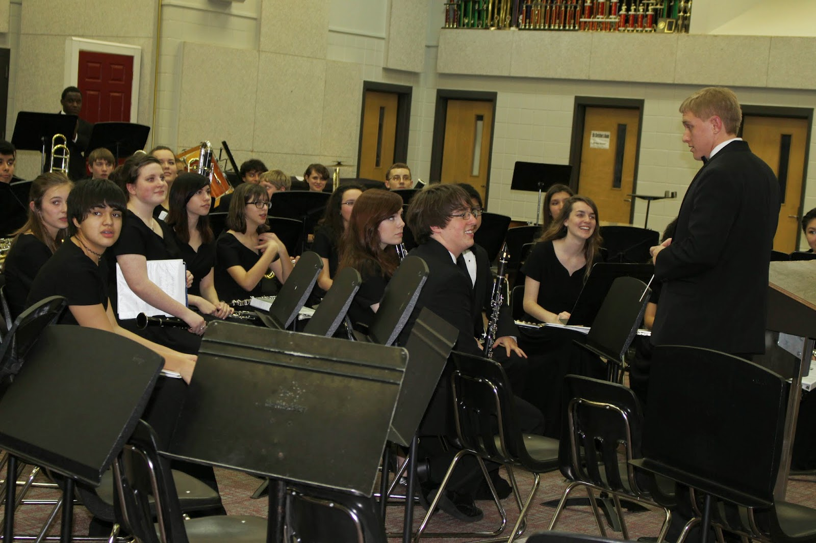Montgomery Catholic's Concert Band Receives High Ratings at MPA 1