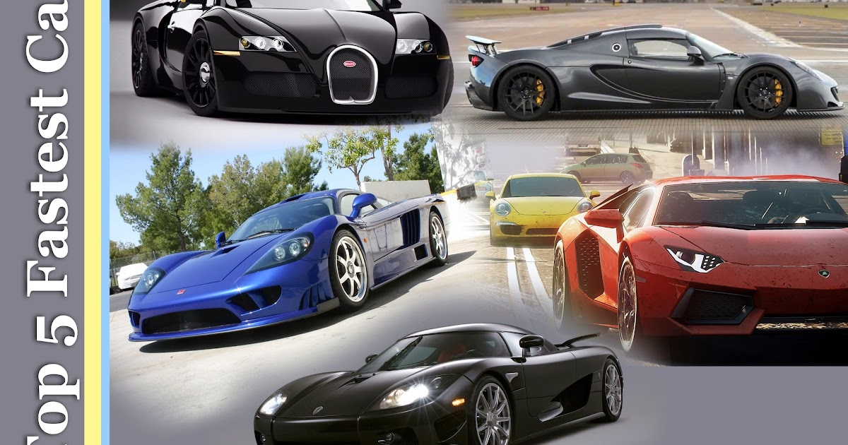 Marvelous World Top 5 Fastest Car in the World for 2015