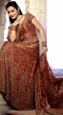 Indian Bridal Marron Wear