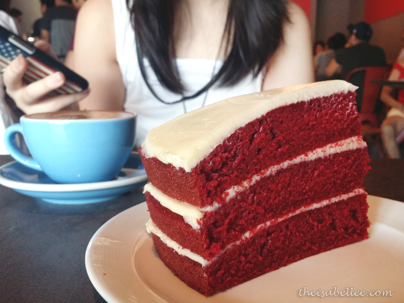 Large triple layered Red Velvet