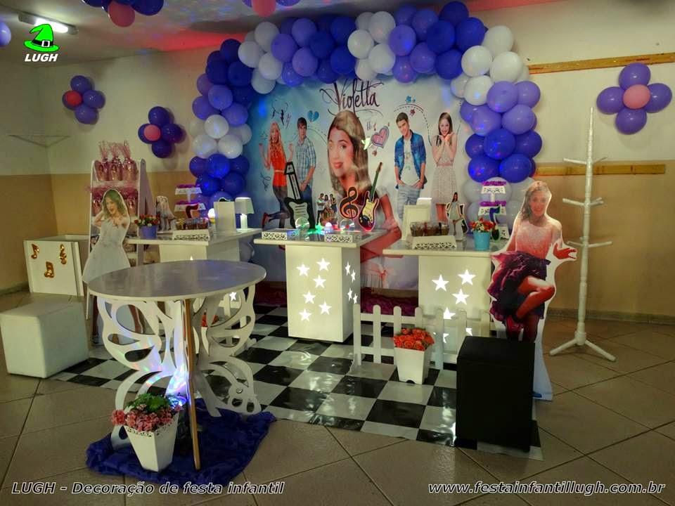 decoracao festa violeta:Tema Violetta para decoração de festa – Festa Infantil Lugh