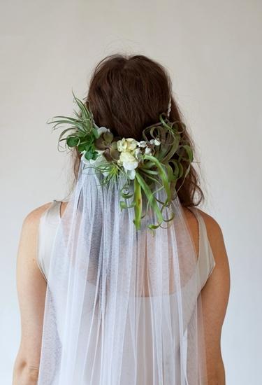 hårblommor, hårblommor bröllop, hårblommor slöja, hårblommor 20-tal, headpiece wedding, flowers hair boho
