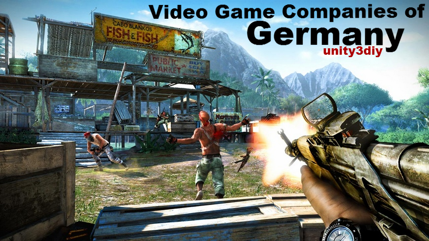 Video Game Companies of Germany unity
