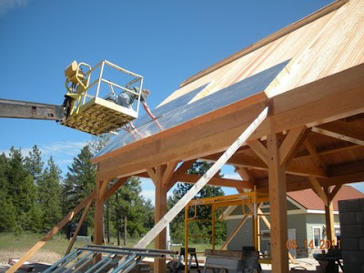 Insulation Panels by RAY-CORE - Kullgren Roof Going Up