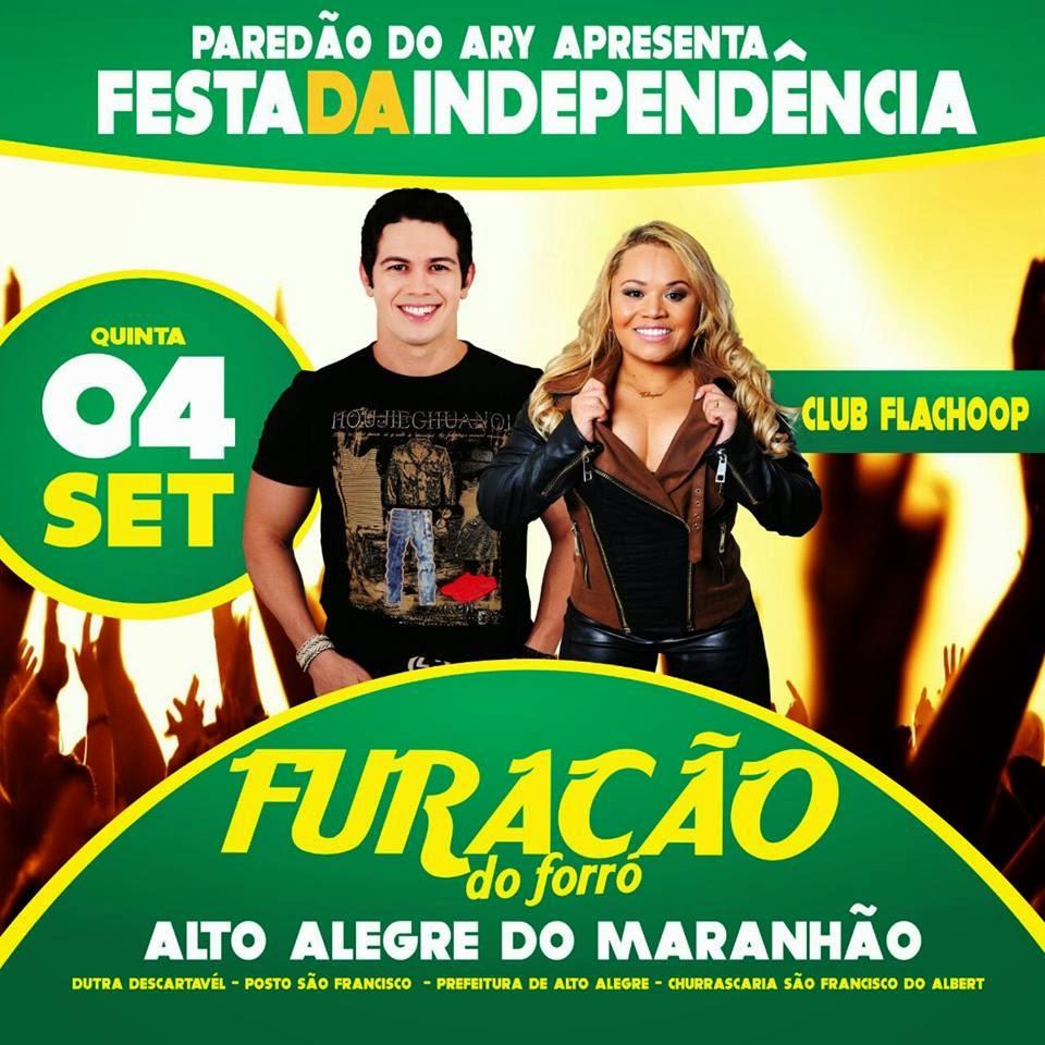 Dia 04 de setembro em Alto Alegre do Maranhão