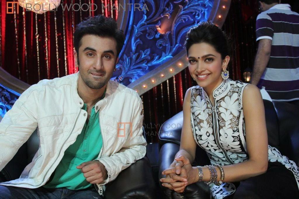 Ranbir Kapoor and Deepika Padhukone
