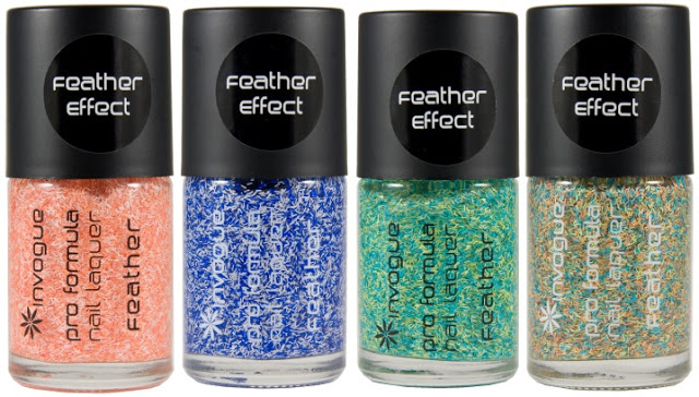 Invogue Feather Nail Polishes