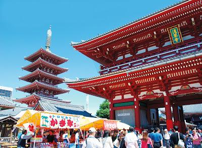 Sensōji temple, Tokyo, Japan