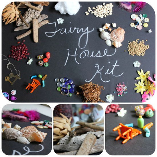 Fairy House Kit via momfluential