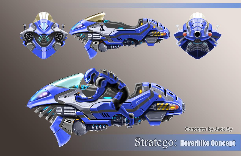 Design Portfolio of Jack Sy Hoverbike Conceptdivdiv