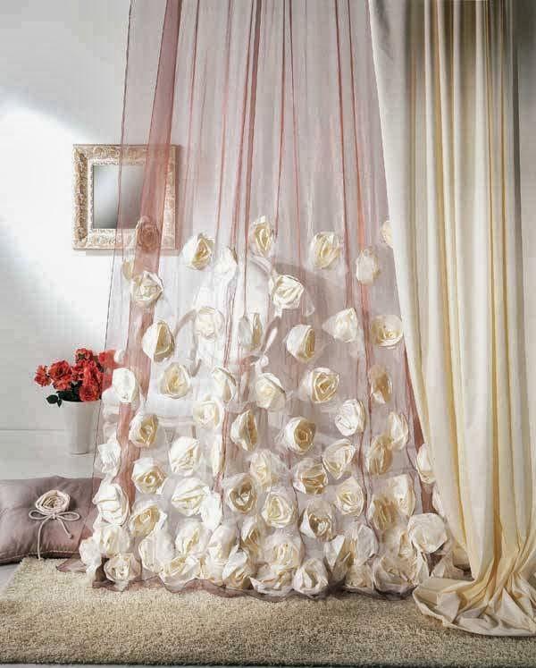 Как декорировать шторы своими руками 32