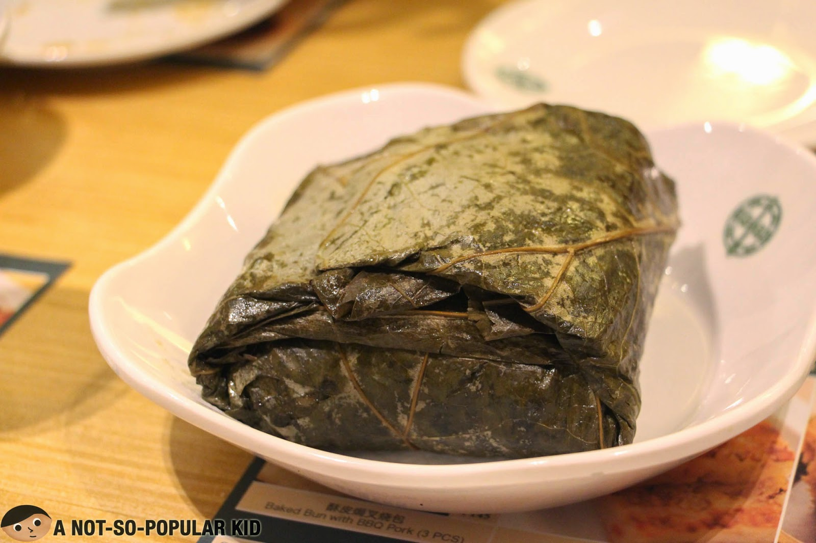 Glutinous Rice wrapped in a special Lotus Leaf of Tim Ho Wan
