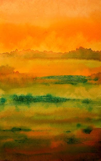painted prism watercolor workshop