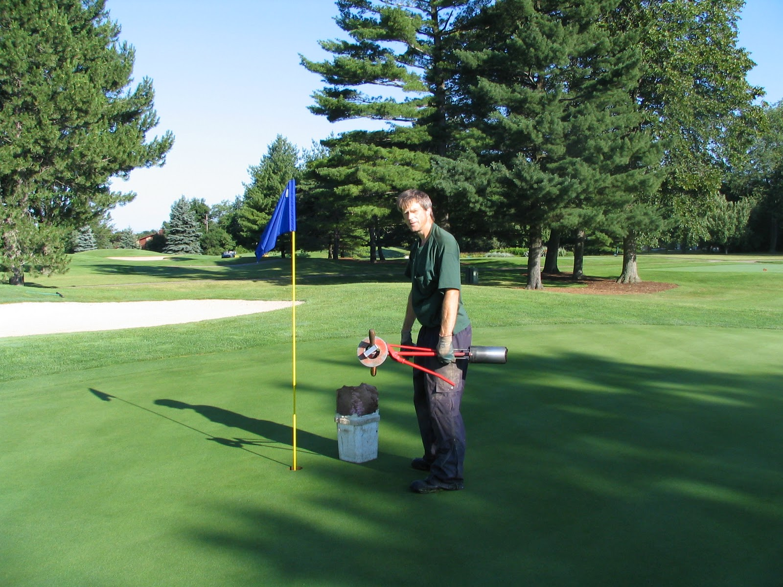 Meadowbrook country club golf course maintenance staff