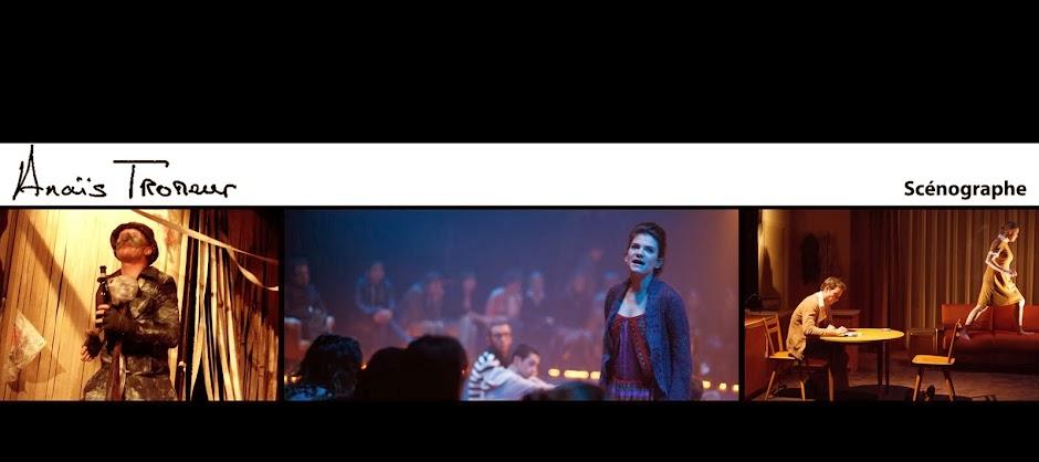 scénographe théâtre Nantes Angers Rennes Brest