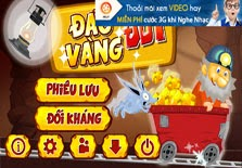 game dao vang doi android
