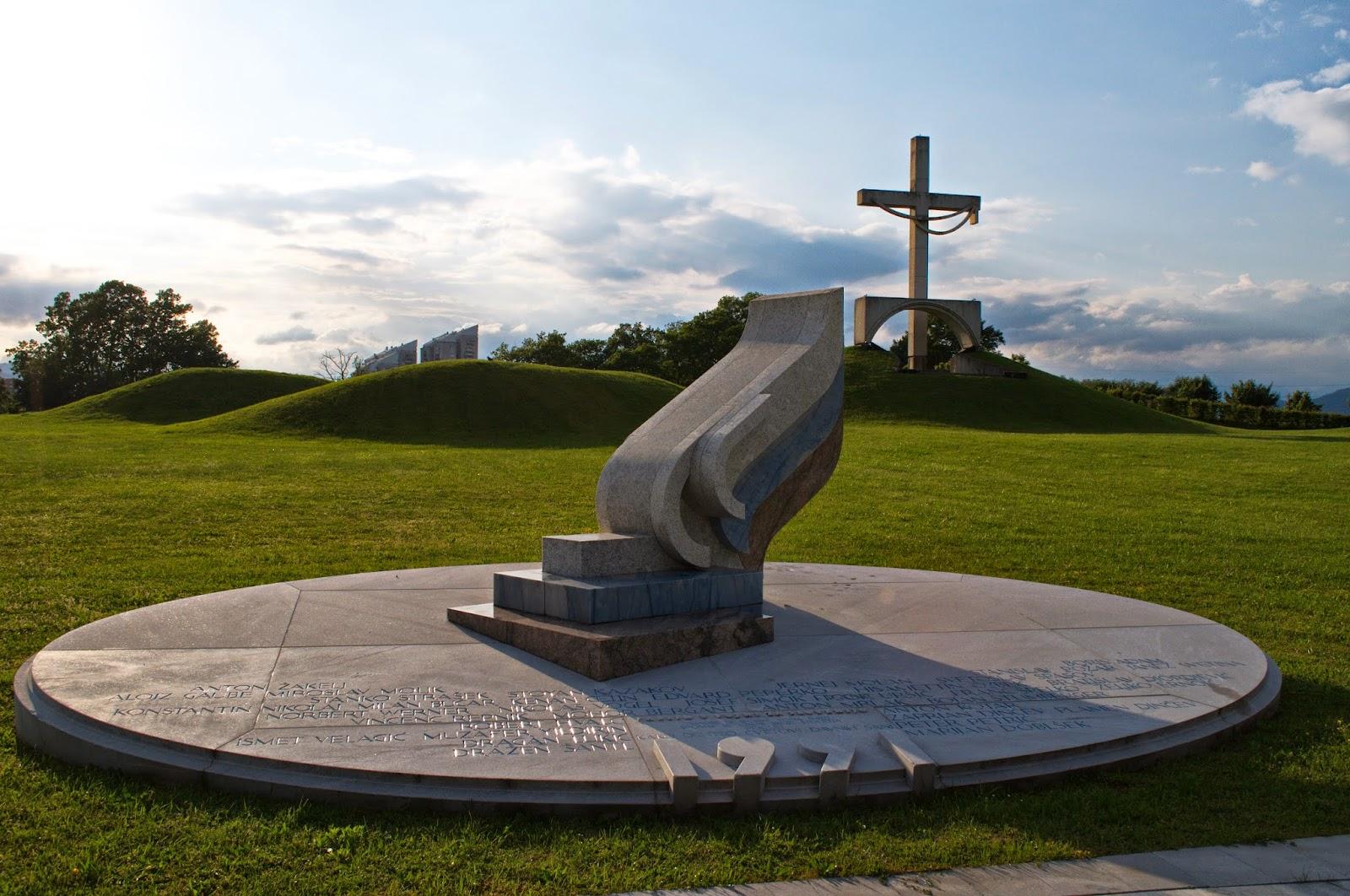 Spomenik padlim v vojni za Slovenijo