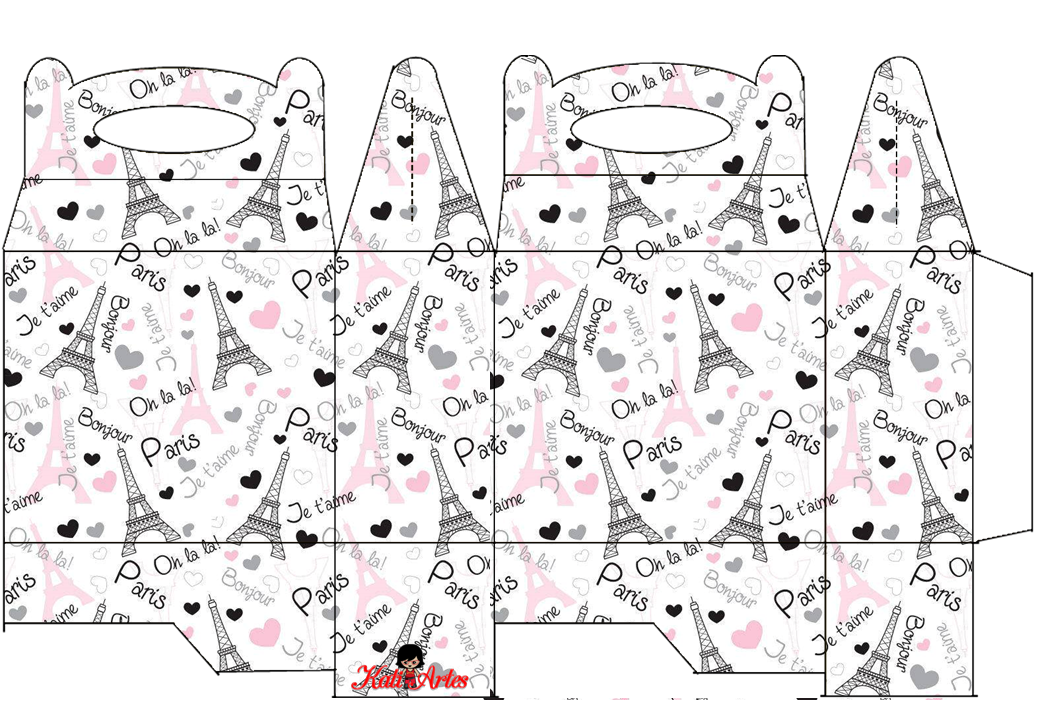 Paris Free Printable Lunch Box Is It For Parties Is
