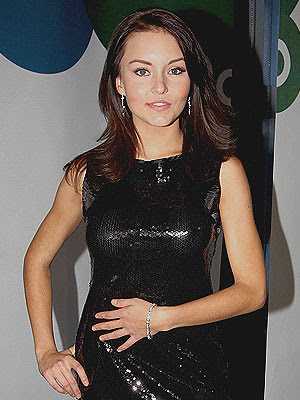 angelique boyer vestido negro