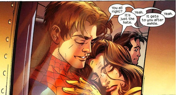 kitty pryde dating spiderman