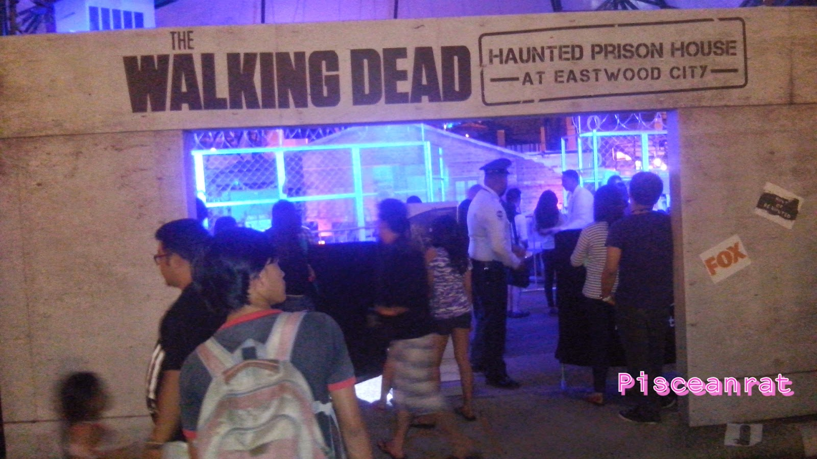 The Walking Dead: Haunted Prison House in Eastwood!