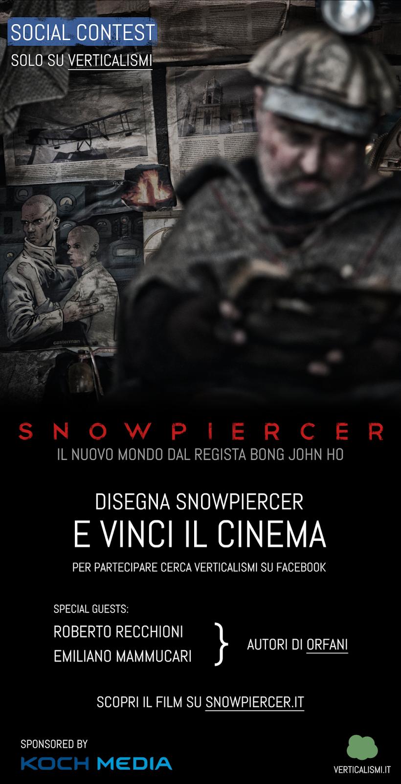 concorso snowpiercer