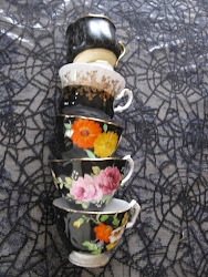 A Halloween Tea Party