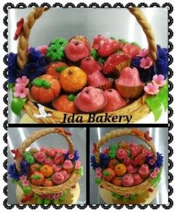 Tempahan Pastry Basket tat nenas RM200