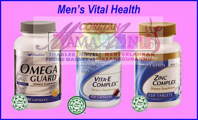 Vitamin Shaklee untuk Lelaki