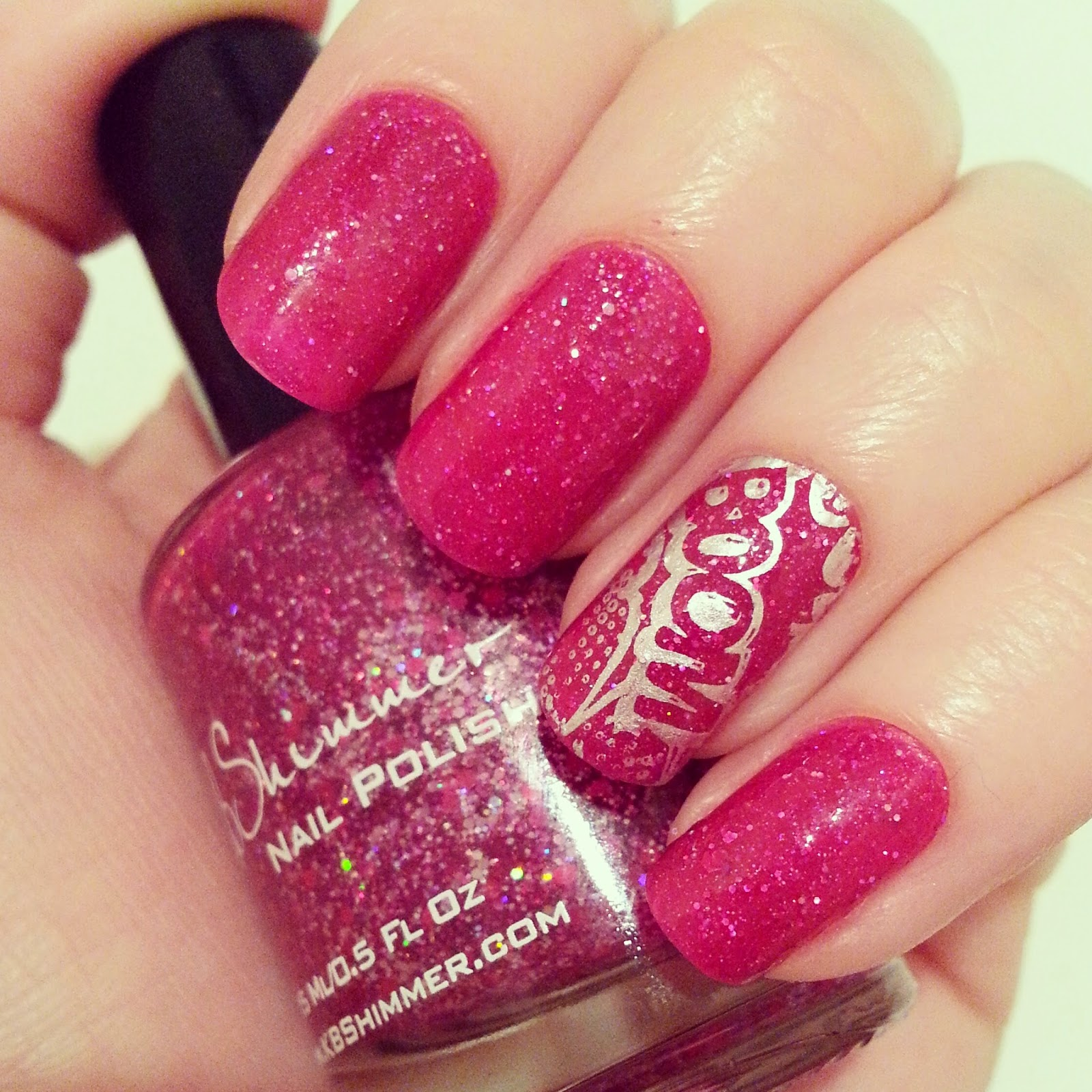 kb-shimmer-razzical-with-accent-nail-art
