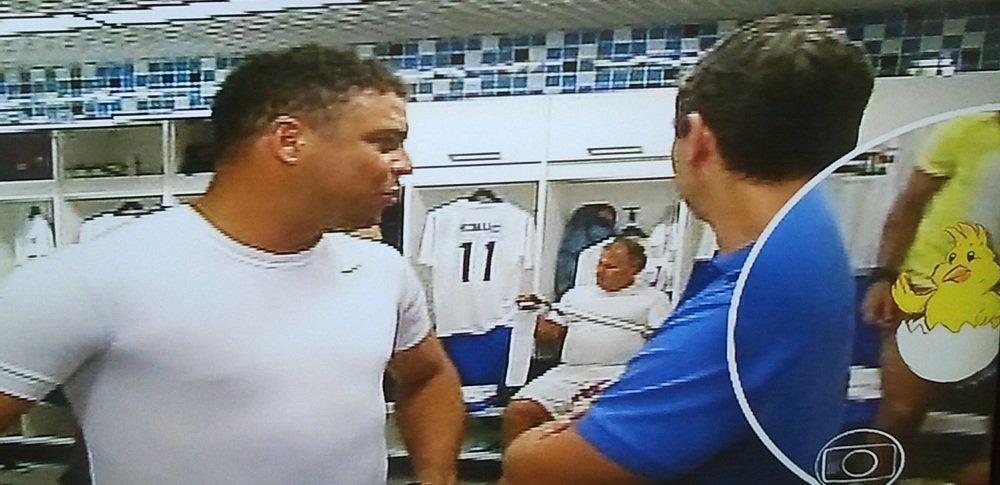 Marcos Silvério: 'Globo Esporte' flagra Neymar nu em jogo beneficente
