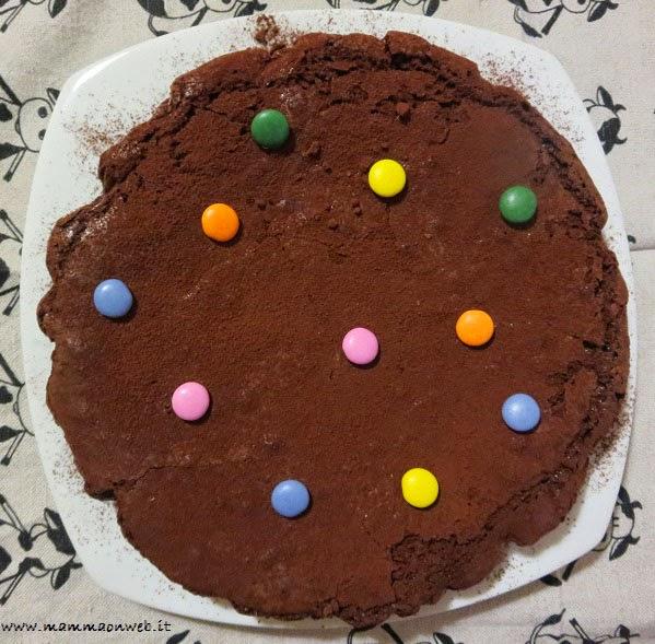 torta cioccolato e smarties