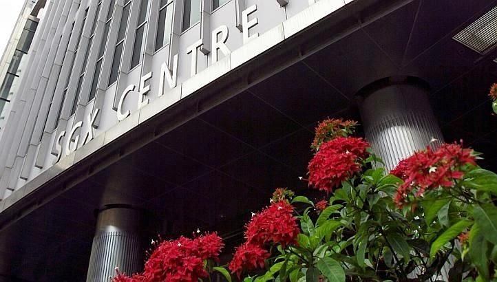 singapore stock exchange today