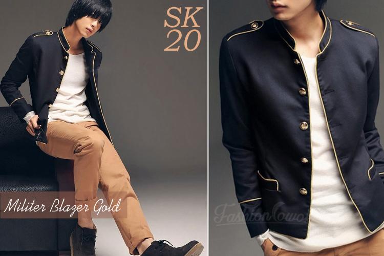 FASHION COWOK | Toko Jaket Online | Jaket Crows Zero | Jaket Korean Style | jual murah Genji's Black Korean Jacket Style  | Jaket National Geographic