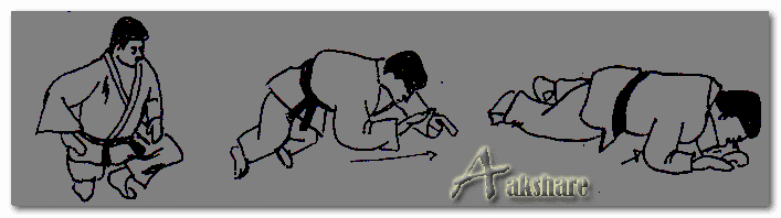 Teknik Dasar Jatuh Kedepan Olahraga Judo (Mae-Ukemi)