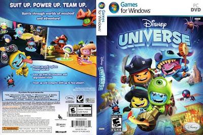 Disney Universe PC DVD Capa