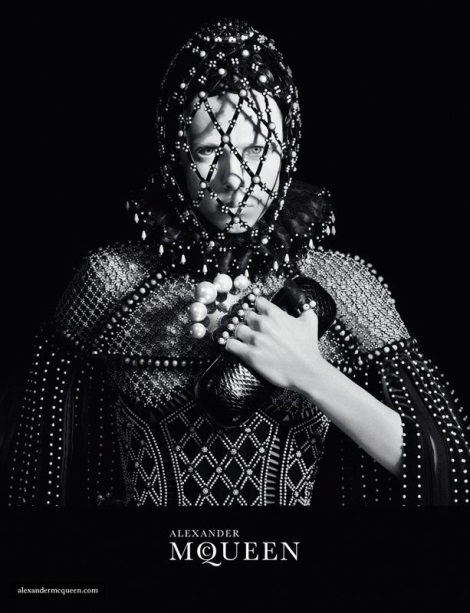 Edie Campbell by David Sims for Alexander McQueen