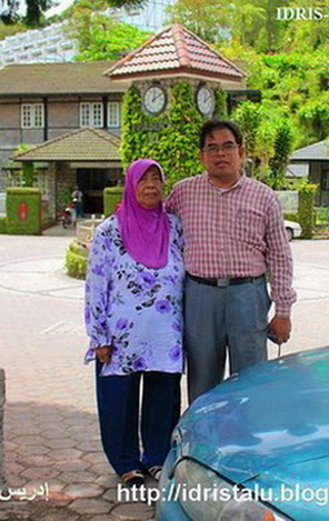 IDRIS TALU & ISTERI DI FRASER HILL