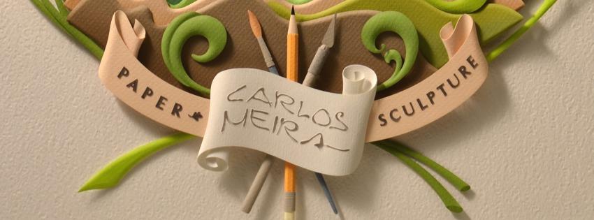 PAPER SCULPTURE CARLOS MEIRA