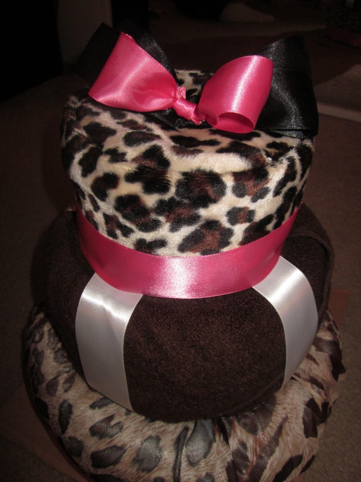 Sugar Free Delights Animal Print Birthday Cake