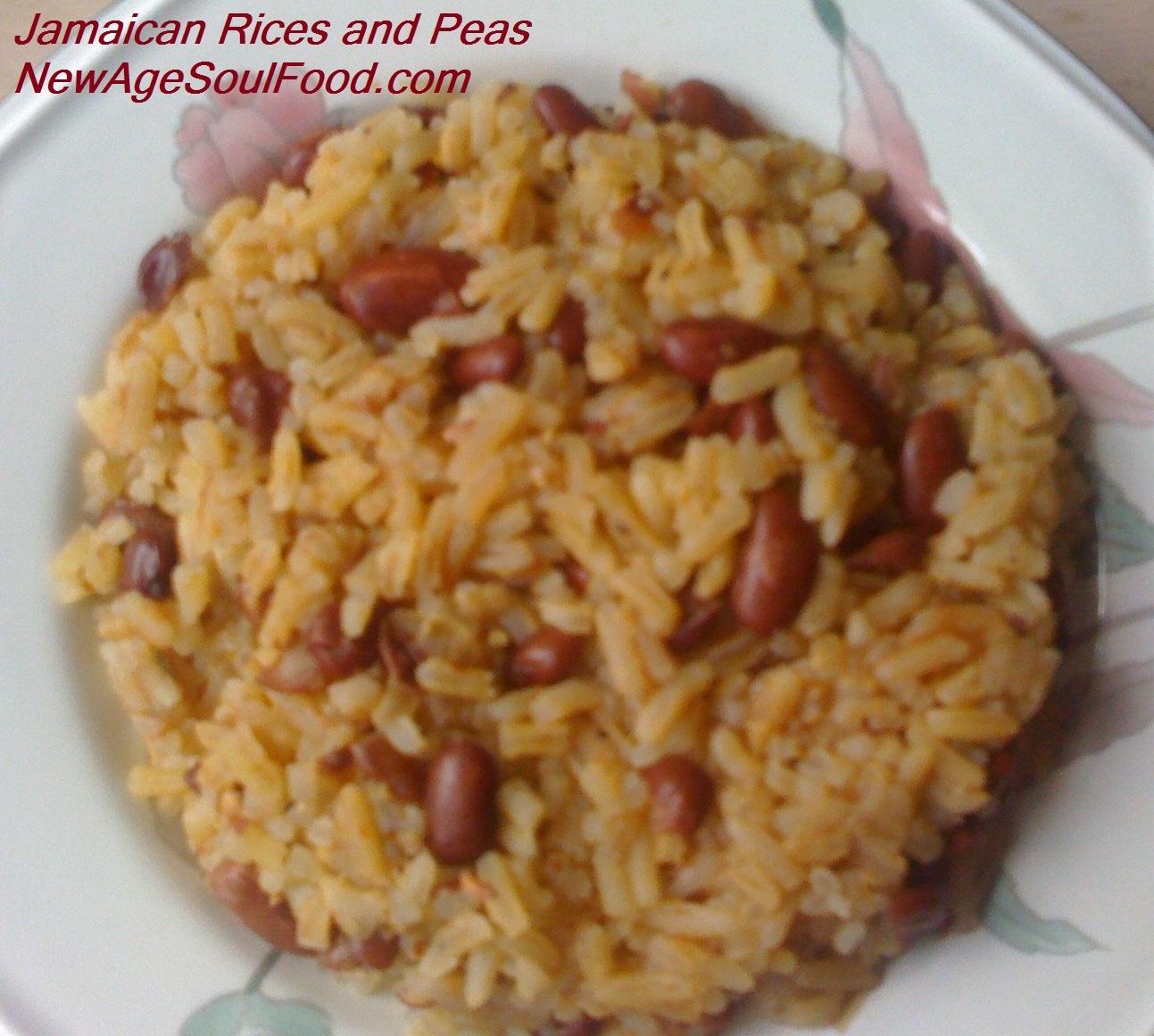 Jamaican Rice And Peas Recipe — Dishmaps