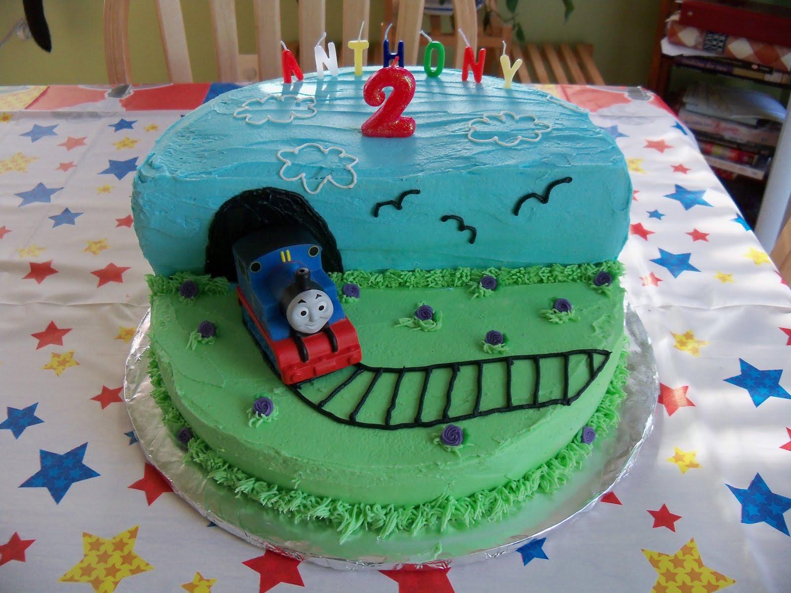 Buttercream Anthonys Thomas Cake