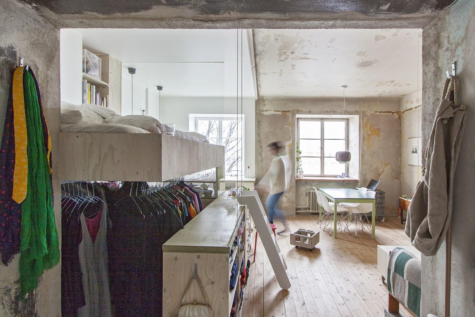 Die wohngalerie minimalistisch kompakt in stockholm for Minimalistisch leben blog