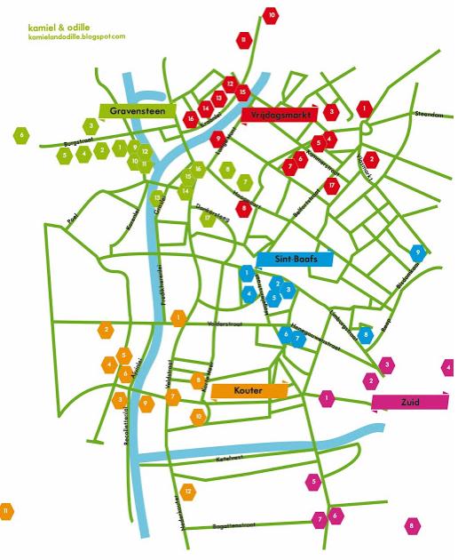 Waarheen in Gent