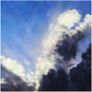 Image of Cloudburst art work by Corinne Loxton