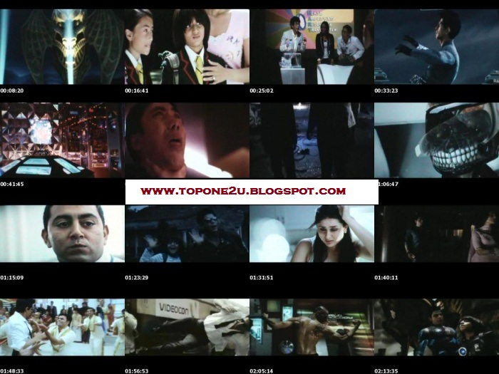 Here are the Download link's of the super hero's full length movie Ra.One ...